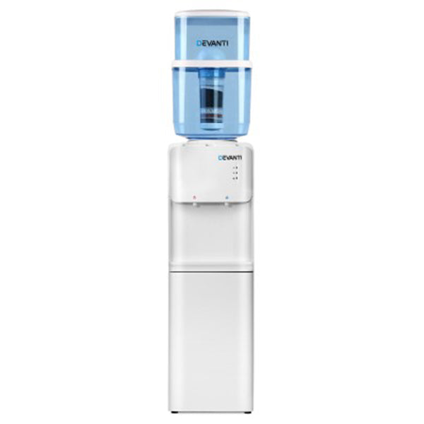 22L Water Cooler Dispenser Top Loading Hot Cold Taps Filter Purifier