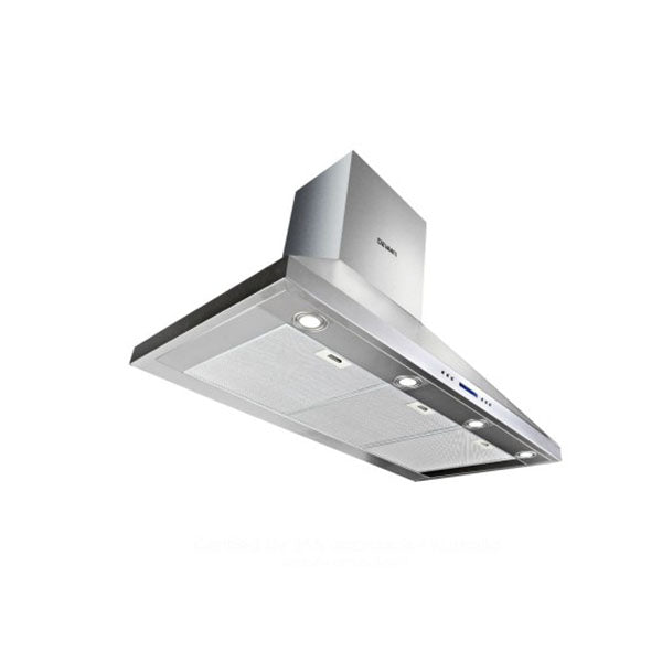 Devanti 1500Mm Commercial Bbq Rangehood Silver
