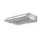 Fixed Range Hood Stainless Steel Kitchen Canopy 60 Cm 600 Mm