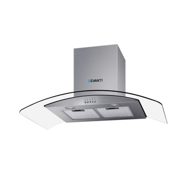 Range Hood 900 Mm Rangehood Kitchen Stainless Glass Canopy 90 Cm