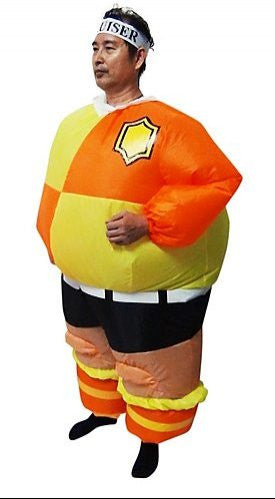 FOOTBALL Fancy Dress Inflatable Suit