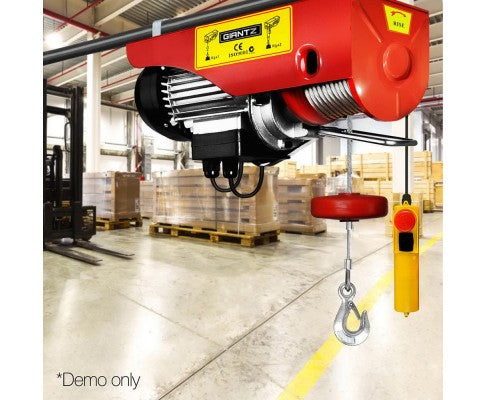 500/1000kg 1600W Electric Hoist Winch