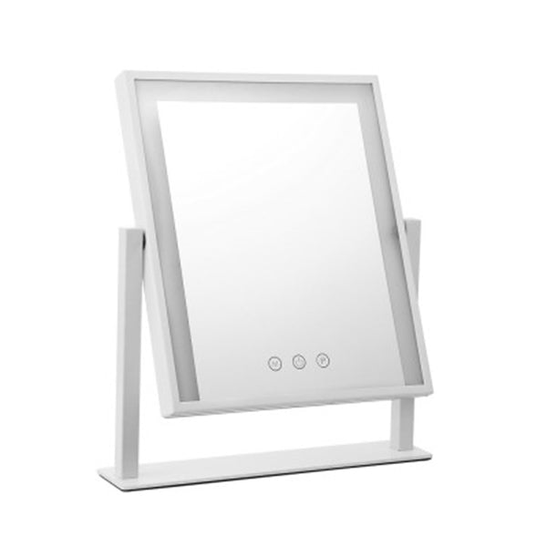 Hollywood Makeup Mirror With Dimmable Bulb Lighted Dressing Mirror