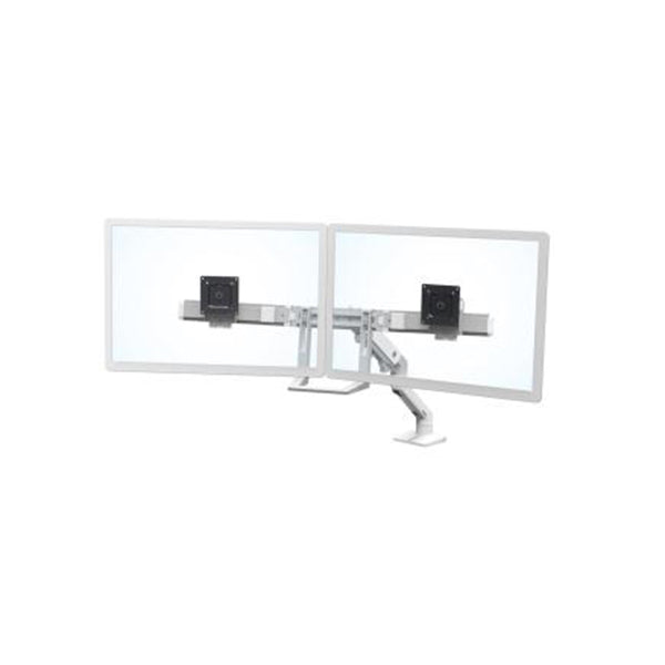 Ergotron Hx Desk Dual Monitor Arm White