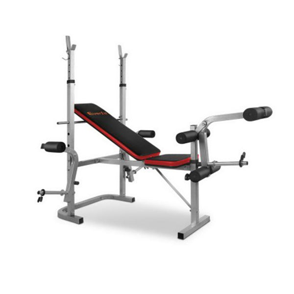 Everfit 7 In 1 Weight Bench Multi Function Power Fitness Gym Equipment