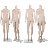 Headless Full Body Female Mannequin Cloth Display Dressmaker Skin Tone