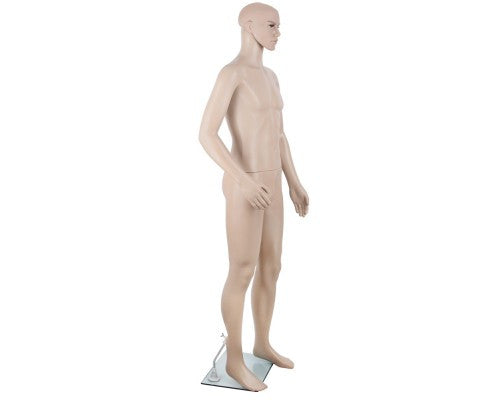 Full Body Male Mannequin Cloth Display Tailor Dressmaker Skin Tone