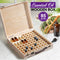 Essential Oil Storage Box Wooden 85 Slots Aromatherapy Container Organiser Case