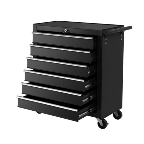 Tool Box Trolley Chest Cabinet 6 Drawers Cart Garage Toolbox Set