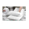 King Size 4 Pack Bed Pillow Medium 2 Firm 2 Microfibre Filling