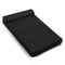 Folding Foam Mattress Portable Sofa Bed Mat Air Mesh Fabric Black