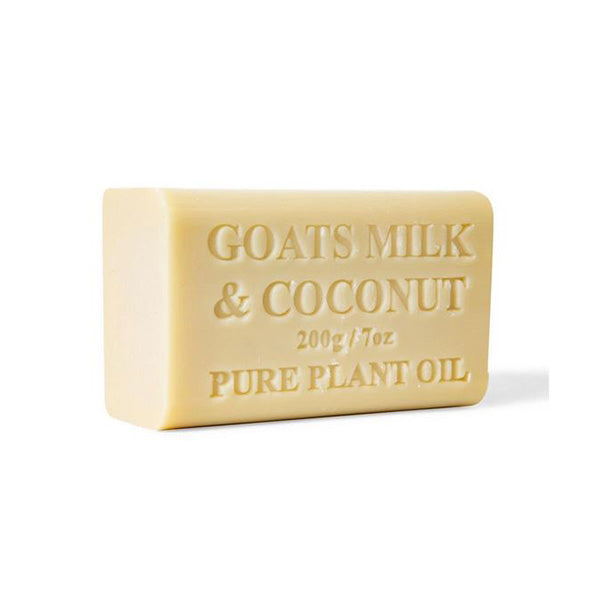 65X 200G Goats Milk Soap And Coconut Goat Bar Skin Care Pure Natural