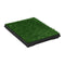 Pet Toilet With Tray And Artificial Turf Green 63X50X7 Cm Wc
