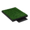 Pet Toilets 2 Pieces With Tray And Artificial Turf Green 63X50X7 Cm Wc