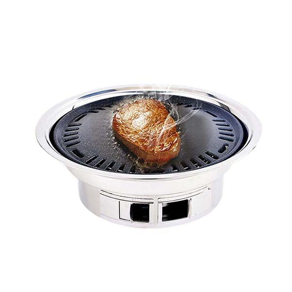 Soga Bbq Grill Stainless Steel Portable Smokeles Grill Outdoor Camping