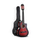 Alpha 34Inch Guitar Classical Acoustic Cutaway Wooden Ideal Kids Gift