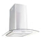 Wall Mounted Range Hood 60 Cm Stainless Steel 756 M