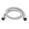 800 Mm Water Inlet Outlet Shower Hose Chrome