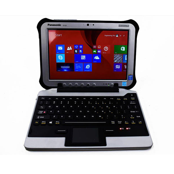 Ikey Snap In Place Fully Rugged Keyboard For The Fz G1 Toughpad