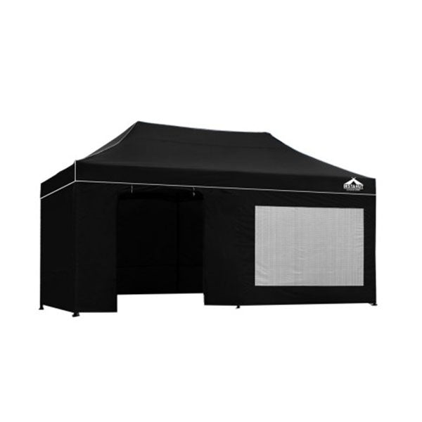 Instahut Gazebo Pop Up Marquee 3x6M Folding Tent Shade