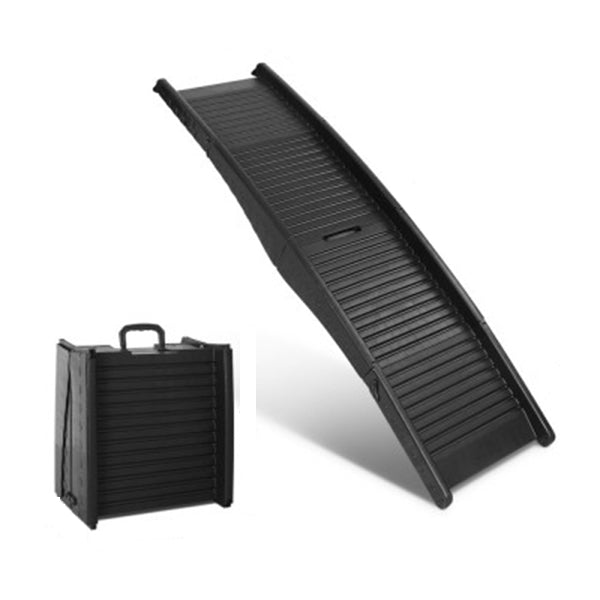 Ipet Portable Folding Pet Ramp For Cars Black