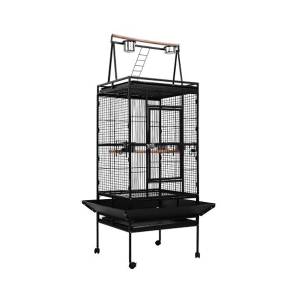 Bird Cage Pet Cages Aviary 173 Cm Large Travel Stand Budgie Parrot Toy