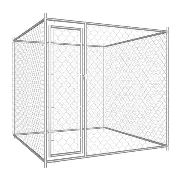 Outdoor Dog Kennel 193X193X185 Cm
