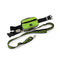 Jogging Dog Leash Kit Adjustable Green Belt Bag Hand Free Walking Lead