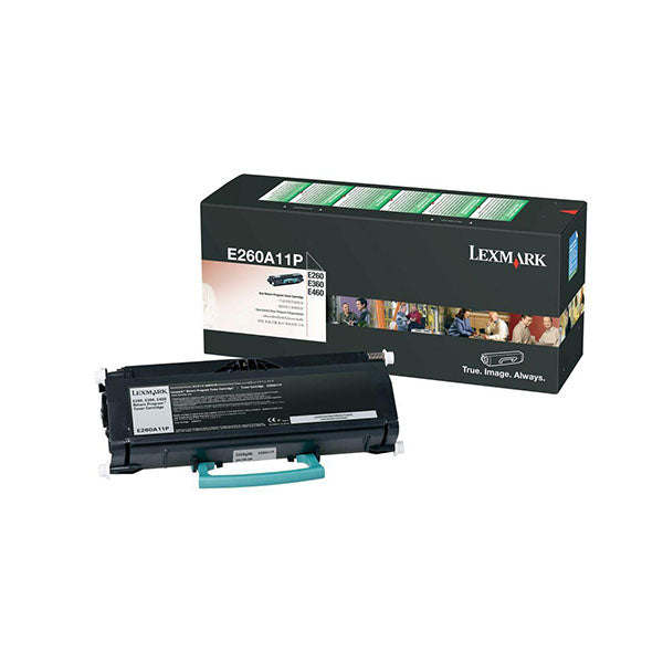 Lexmark Toner Black Yield 3500 Pages