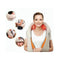 Cervical Massager Neck Shoulders Body Heat Knead Shiatsu Massage