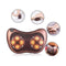 Pillow Cushion Massager Heat Vibration Kneading Massage