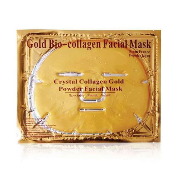 10X Gold Bio Collagen Facial Mask Lifting Anti Ageing Whitening