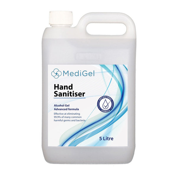 Sanitizing Hand Gel 5 Litre Alcohol Based