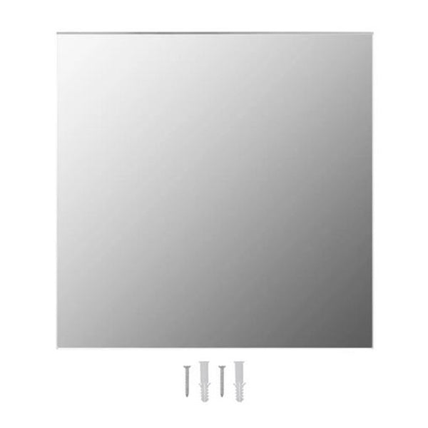 Wall Mirror Square Glass