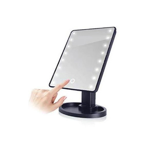 Makeup Vanity Mirror Swivel Led Light 10X Magnifying Zoom And Pocket