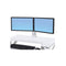Ergotron Workfit Dual Monitor Kit White