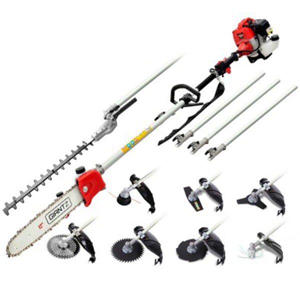 62CC 9in1 Pole Chainsaw Set