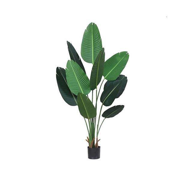 Soga 160Cm Artificial Indoor Traveler Banana Tree Flower Pot Plant
