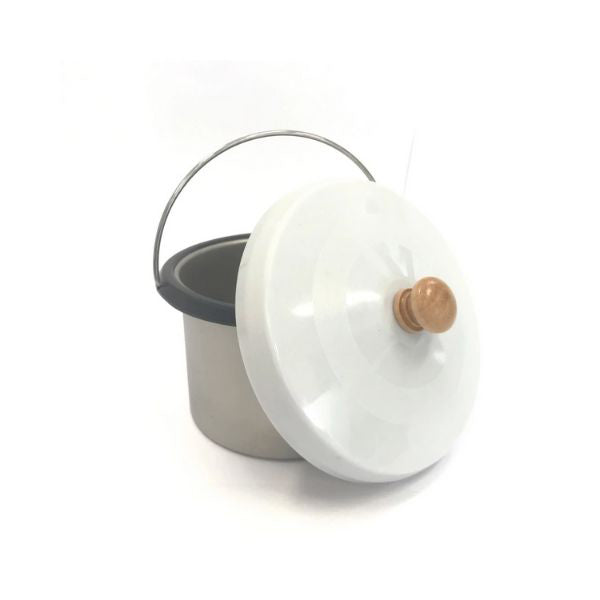500 Ml Wax Pot Insert Lid Aluminium Replacement Part Container Pot