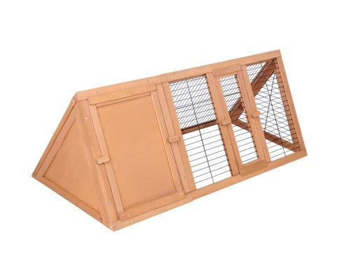 Rabbit Hutch Guinea Pig Chicken Ferret Cage Triangle