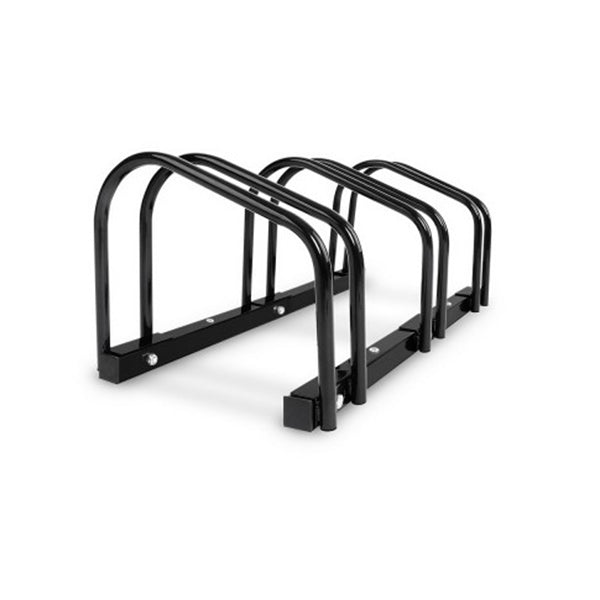 Portable Bike Parking Rack Bicycle Instant Storage Stand Black