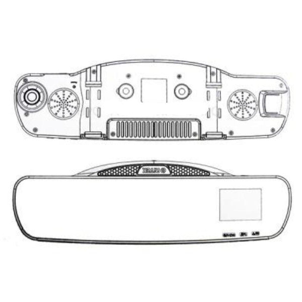 Ritek Rearview Mirror + Driving Recorder