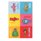 Little Circus Yo Gabba Multi Colour Nylon Kids Rug 150X100 Cm