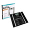 Electronic Digital Body Fat & Hydration Glass Weight Scale