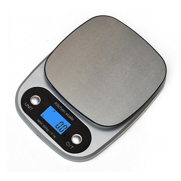 High Precision Kitchen Scale Rechargeable Food Scale Digital 3Kg