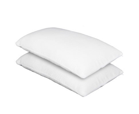 Set of 2 Deluxe Shredded Memory Foam Pillow