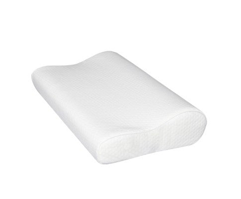 Set of 2 Deluxe Visco Elastic Memory Foam Contour Pillow