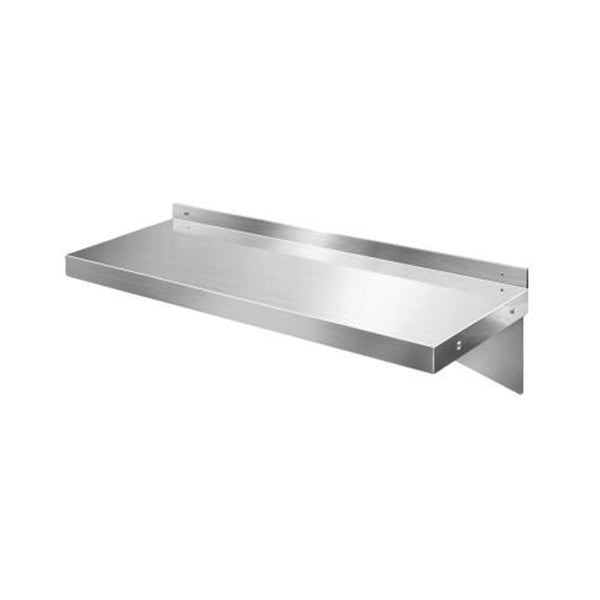 Stainless Steel Wall Shelf Kitchen Rack Mounted Display Shelving