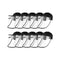 10X Outdoor Hat Anti Fog Pollution Dust Saliva Full Face Shield Adult