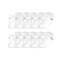 10X Outdoor Hat Anti Fog Dust Saliva Cap Full Face Shield Adult White